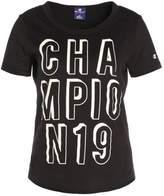 Champion Print Tshirt black