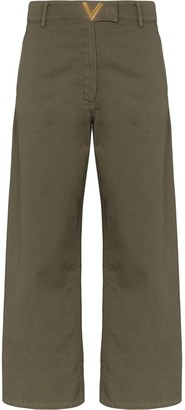 Valentino VGOLD wide leg trousers