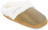 Gold Ribbed Slipper
