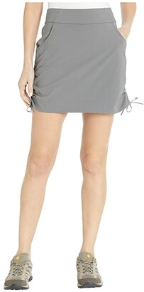Columbia Anytime Casual Skort (City Grey) Women's Skort