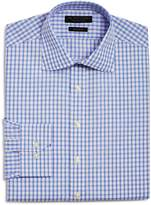 The Men's Store at Bloomingdale's Grid Check Regular Fit Dress Shirt - 100% Exclusive