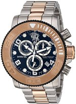 Invicta Men's 'Sea Base' Swiss Quartz Stainless Steel Casual Watch, Color:Two Tone (Model: 17992)