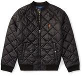 Ralph Lauren 8-20 Quilted Baseball Jacket