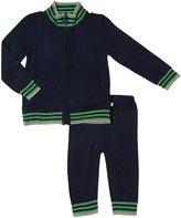 Appaman Sweater Track Suit Set (Baby) - Galaxy-3-6 Months