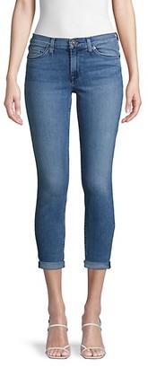 Hudson Super-Skinny Crop Jeans