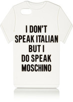 Moschino T-Shirt Silicone Iphone 5 Cover
