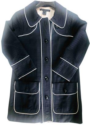 Marc by Marc Jacobs Black Cotton Coats