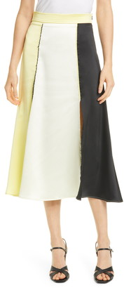 Stine Goya Jada Colorblock Midi Skirt