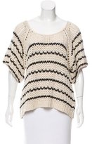 Ulla Johnson Striped Crochet Sweater