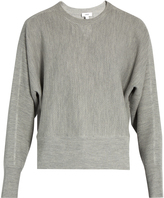 Vince Crew-neck wool and silk-blend sweater