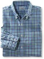 L.L. Bean L.L.Bean Wrinkle-Free Kennebunk Sport Shirt, Slightly Fitted Check