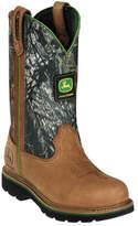 """John Deere Women's Boots 9"""" Camo Wellington"""