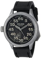 Welder Unisex 504 Analog Display Quartz Black Watch