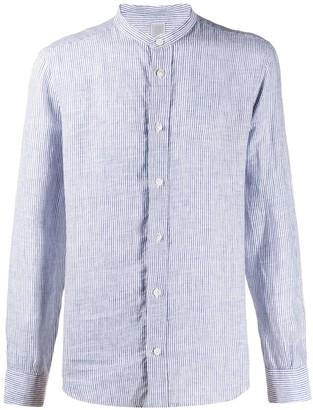 Eleventy Striped Linen Shirt