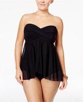 Profile by Gottex Plus Size Tutti Frutti Flyaway One-Piece Swimsuit Women's Swimsuit