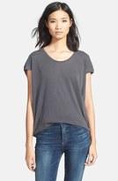 Splendid Women's Scoop Neck Short Sleeve Top