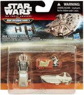 Hasbro Star Wars: Episode VII The Force Awakens Micro Machines 3-pk. Speeder Chase Set by