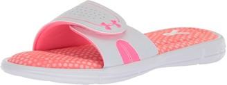 Under Armour Women's Ignite VIII - Power in Pink Slide Sandal