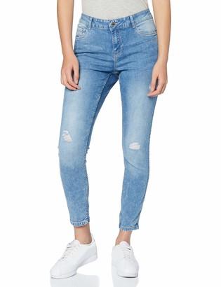 Vero Moda Women's Vmseven Mr S Shape Up Dstr Vi353 Noos Ga Jeans