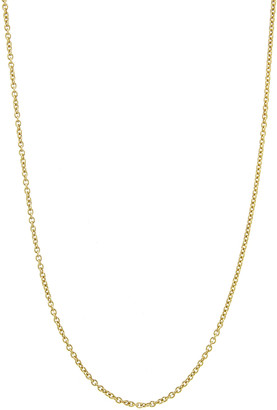 Dru Small Rolo Chain Necklace - Yellow Gold