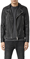 Allsaints Allsaints Rowley Leather Biker Jacket, Black