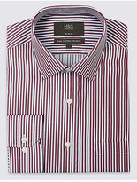 M&S Collection Big & Tall Pure Cotton Non-Iron Shirt