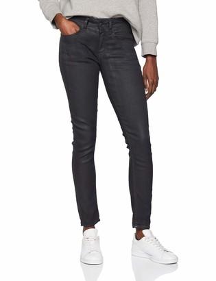 G Star Women's Lynn Mid Waist Skinny Fit Jeans