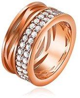 Pierre Cardin Vague Mousseux Silver Cubic Zirconia Ring