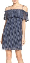 Greylin Women's Print Off The Shoulder Knit Dress