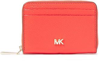 MICHAEL Michael Kors Pebbled-leather Cardholder