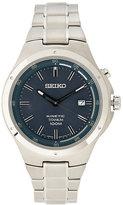 Seiko SKA729 Silver-Tone & Blue Watch