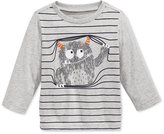 First Impressions Long-Sleeve Graphic-Print T-Shirt, Baby Boys, Only at Macy's