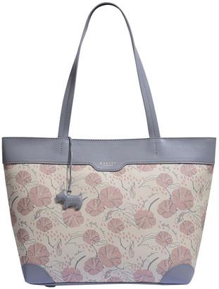 Radley Moonflower Large Zip-Top Shoulder Tote Bag