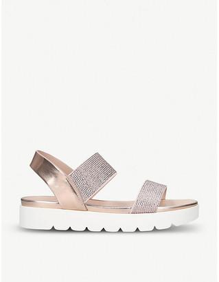 Aldo Voan faux-leather sandals