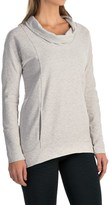 Lucy Savasana Cowl Neck Shirt - Long Sleeve (For Women)