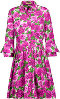 Michael Kors Peony floral-print cotton dress