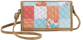 Donna Sharp Sydney Crossbody Tri-Fold Wallet