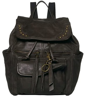 Frye Odessa Backpack (Dark Brown) Backpack Bags