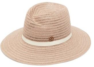 Maison Michel Virginie Woven Hemp-straw Hat - Beige