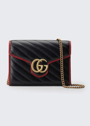 Gucci GG Marmont Torchon Wallet On Chain