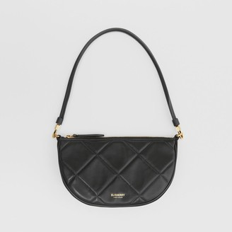 Burberry Quilted Lambskin Olympia Pouch