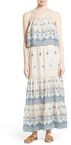 Joie Women's Sorne Print Popover Maxi Dress