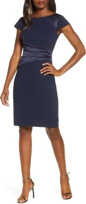 Harper Rose Side Ruched Sheath Dress