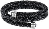 Swarovski Crystaldust Bangle Double, Black 5255910