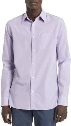 Calvin Klein New Essentials Gingham Slim-Fit Shirt