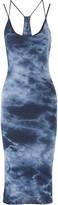 Enza Costa Layered Pima cotton midi dress