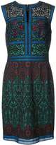 Tadashi Shoji panelled dress - women - Cotton/Nylon/Polyester - 6