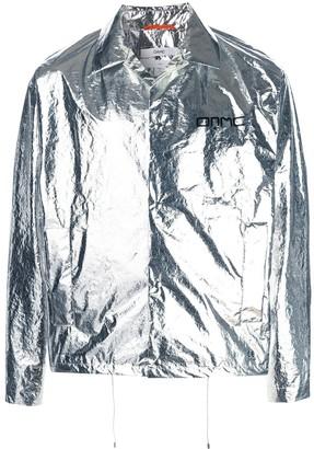 Oamc metallic shirt-jacket
