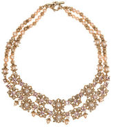 Marchesa Two-Tier Floral Necklace