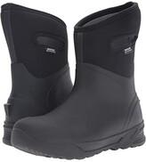 Bogs Bozeman Mid Boot (Black) Men's Waterproof Boots